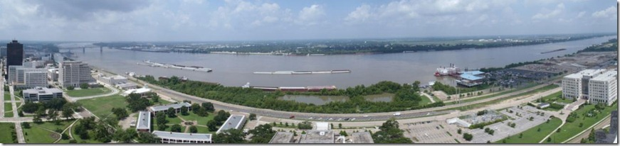 Baton Rouge, end of the 'safe' Mississippi (without a radio)